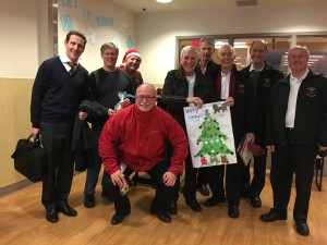 Patient Christmas Party - 2015 Toronto Rehab Centre