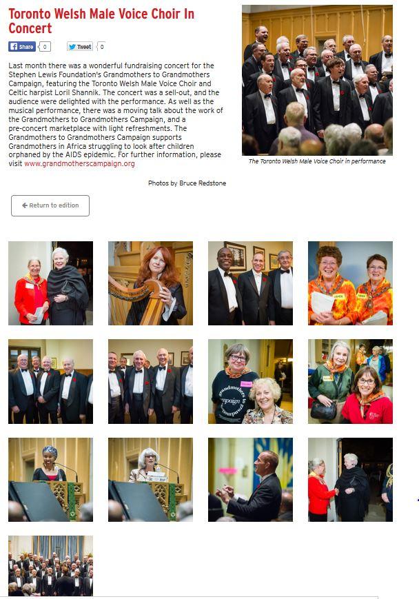Press/Links | Toronto Welsh Male Voice Choir (twmvc)