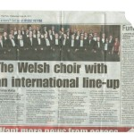 Welsh Singing Meets The Rockies - Free Press, Wednesday June 26, 2013