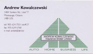andy k sponsor card