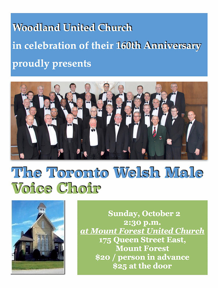 poster-mount forest united church concert