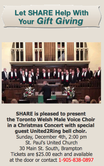 Concert Poster: S.H.A.R.E. Benefit Concert
