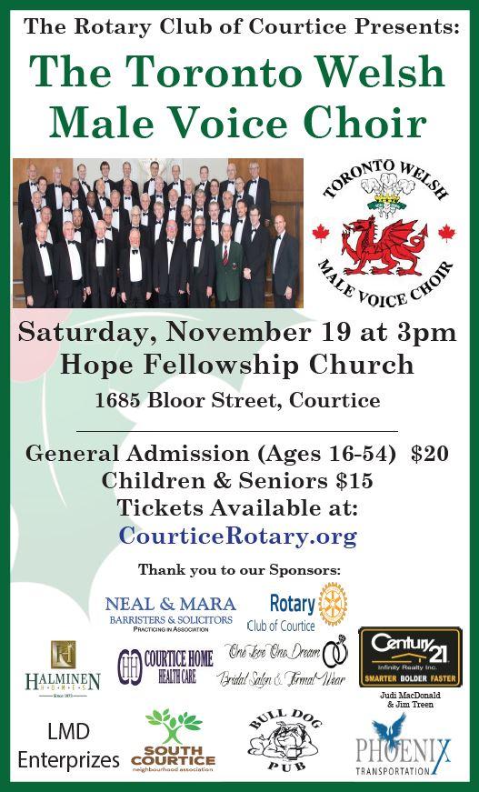 19Nov16 Concert Poster (Courtice,ON)